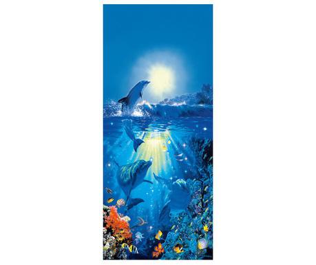 Tapet pentru usa Dolphin in the Sun 86x200 cm