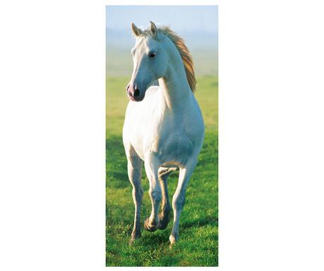 White Horse Ajtótapéta 86x200 cm