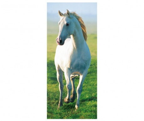 Tapet pentru usa White Horse 86x200 cm