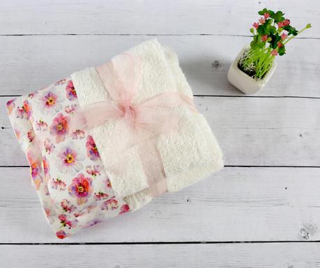 Set 3 kupaonska ručnika Bambu Duygu