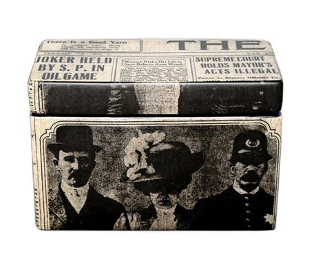 Škatla s pokrovom Newspaper