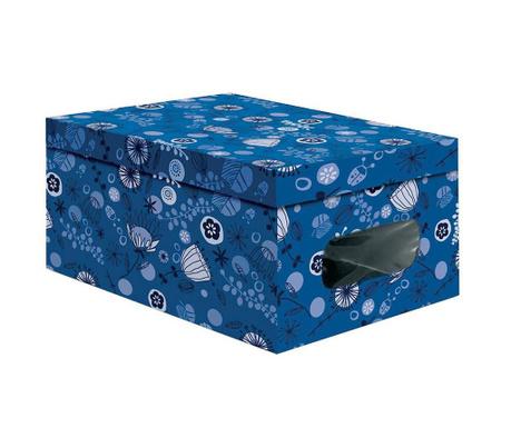 Cutie  cu capac pentru depozitare Sisy Dark Blue