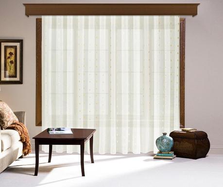 Záclona Harper Cream 200x260 cm