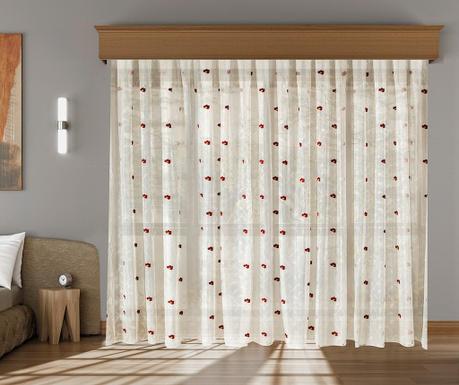 Záclona Augusta Burgundy 200x260 cm