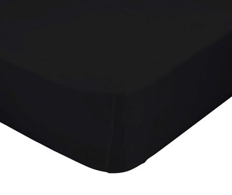 Долен чаршаф с ластик Basic Black