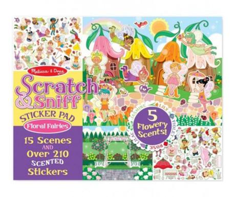 Set 210 abtipilduri parfumate Fairies of the Flowers