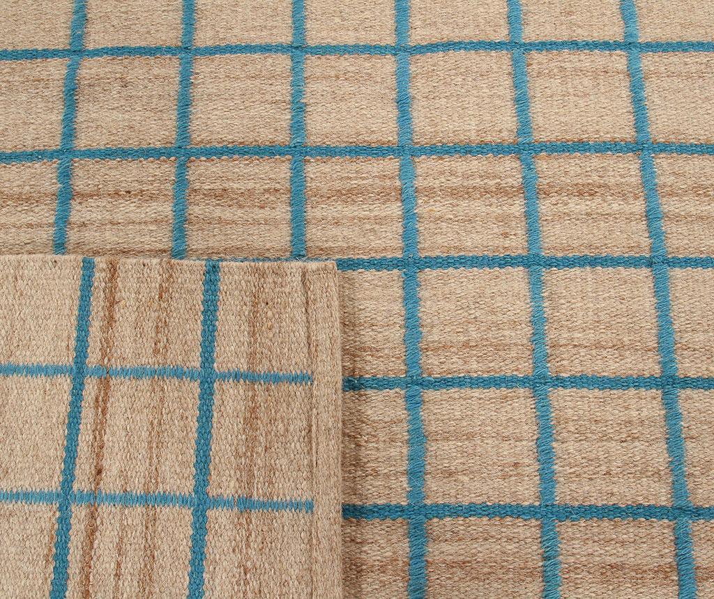 Tepih Kilim Box Blue 140x200 cm