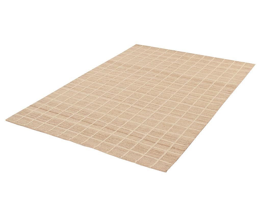 Tepih Kilim Box Ivory 60x120 cm