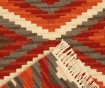 Covor Kilim Zagros Red 60x120 cm