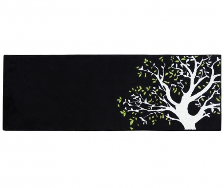 Tree on Black Szőnyeg 50x140 cm