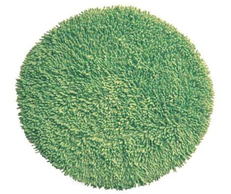 Covoras de baie Shaggy Green 60 cm