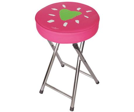 Сгъваем стол Heart on Pink
