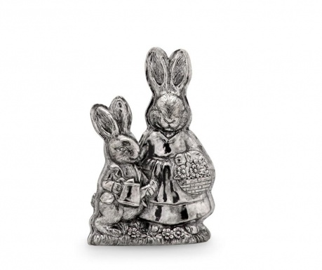 Decoratiune Bunny Mom & Child