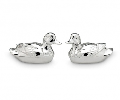 Set 2 decoratiuni Duck Pair Big