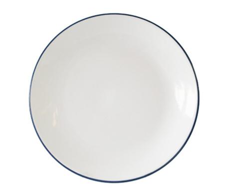 Mělký talíř Vince Dark Blue
