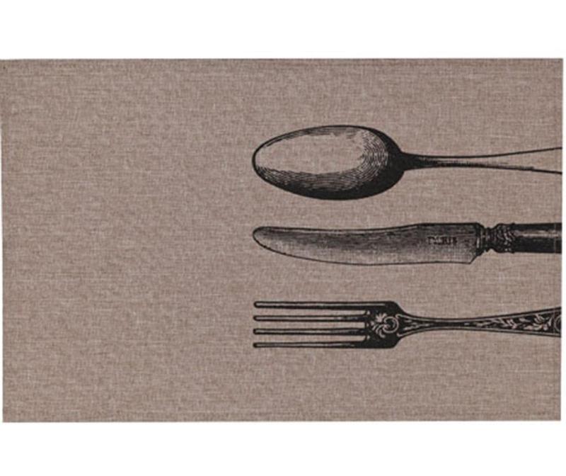 Podmetač Cutlery Black 30x45 cm