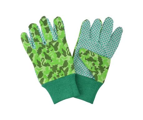 Manusi pentru gradinarit pentru copii Camouflage