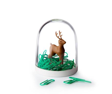 Set 40 agrafe de birou si suport Deer in the Forest