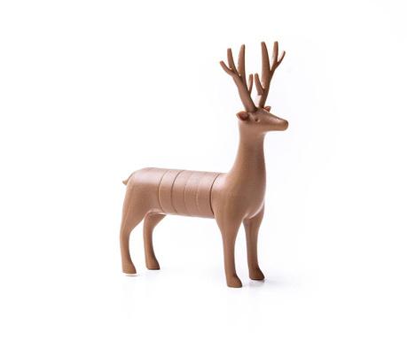 Set 6 magneti Deer Brown