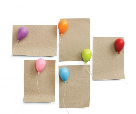 Balloon 6 darab Mágnes