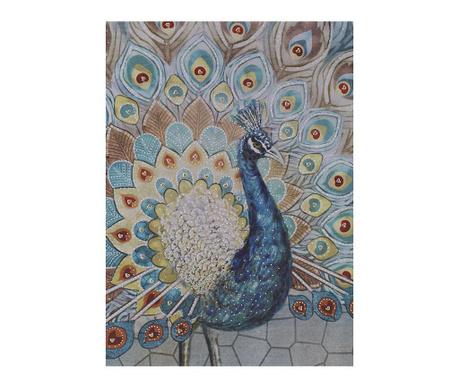 Tablou Peacock 80x100 cm