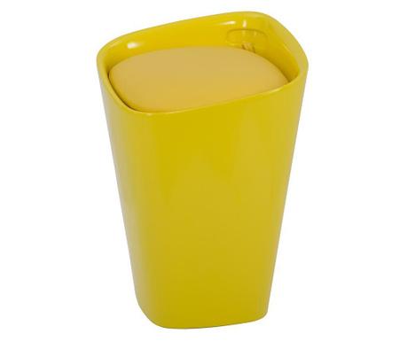Taboret Modern Look Yellow