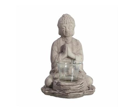 Buddha Grey Gyertyatartó