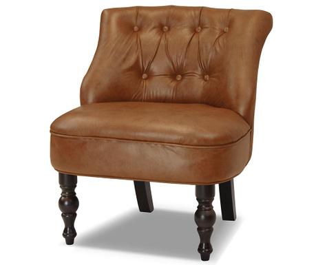 Fotel Dentelle Premium Cognac