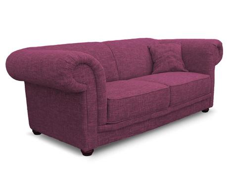 Dvoumístná pohovka Aubusson Dark Pink