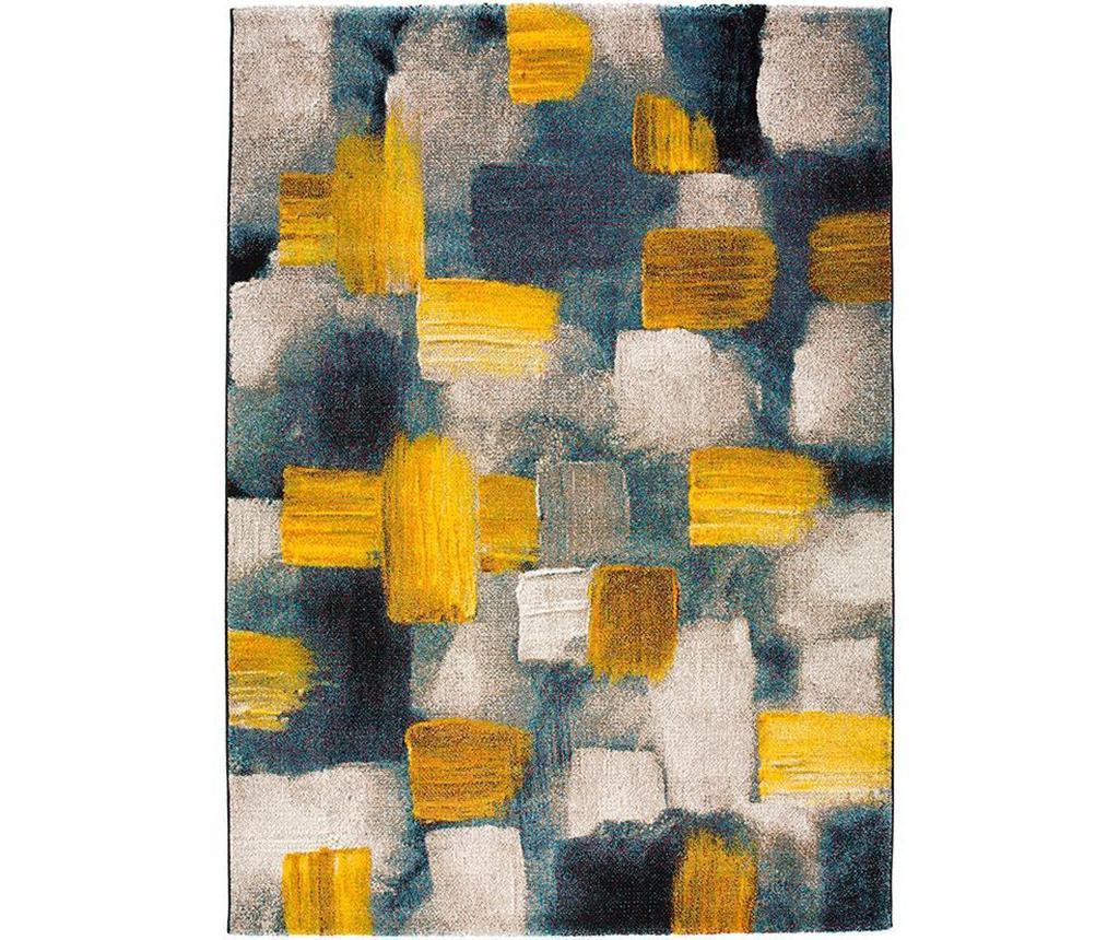Covor Squares Yellow 140x200 cm