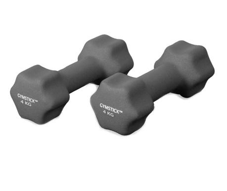 Σετ 2 αλτήρες Dwali Grey 4 kg