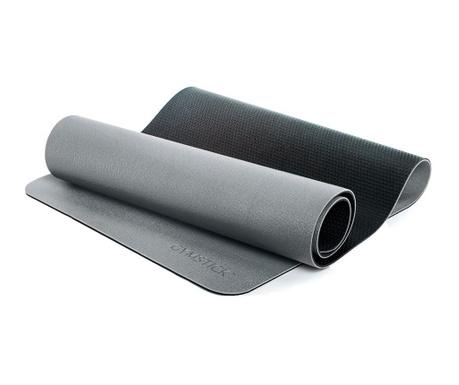 Saltea pentru fitness Pro Yoga Grey Black 61x180 cm