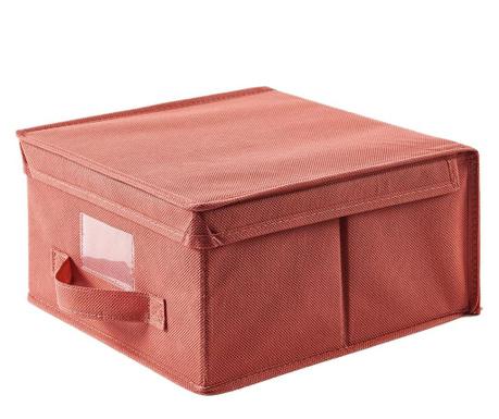 Shranjevalna škatla s pokrovom Monik Red