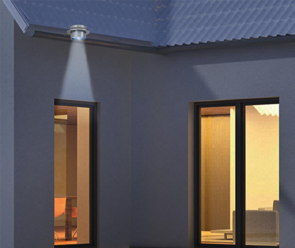 Set 3 zidne solarne svjetiljke Aldo