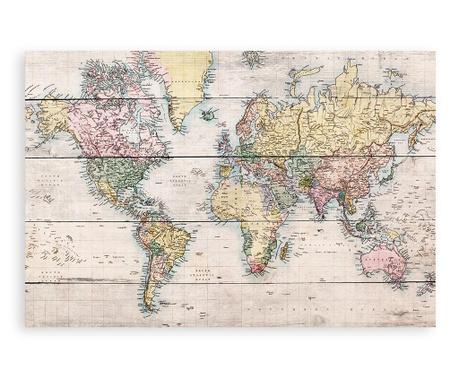 Slika Worldmap 40x60 cm