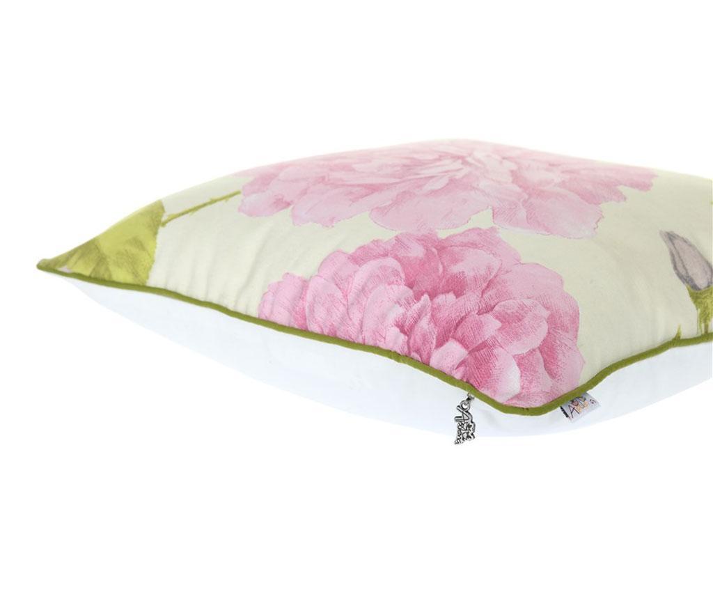 Obliečka na vankúš Graphite Flower 43x43 cm