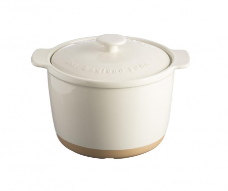 Posuda za pečenje  s poklopcem Original Cane Beige 2 L