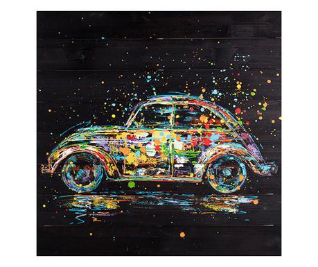 Tablou Bee Car 80x80 cm