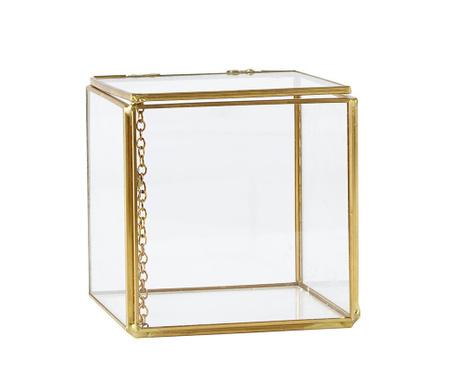 Cutie cu capac Transparente Square