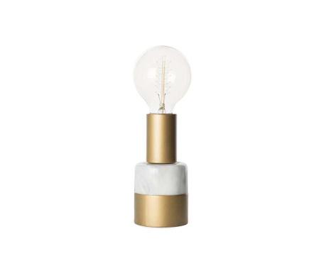Eureka Gold & White Éjjeli lámpa