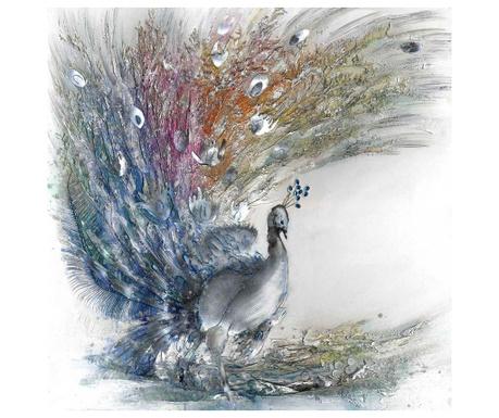 Slika Peacock Style 80x80 cm