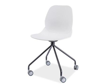 Barová židle Alfio White