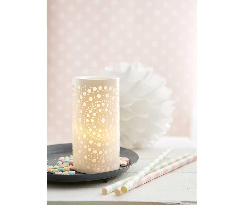 LED svijeća Rainbow Pastel
