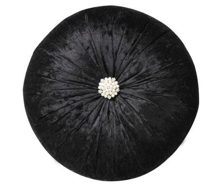 Poduszka dekoracyjna Elegant Black 38 cm