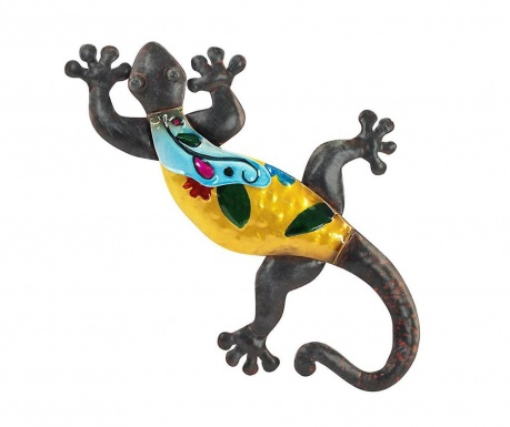 Nástěnná dekorace Colourful Lizard