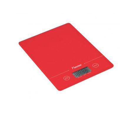 Plain Red Digitális konyhai mérleg