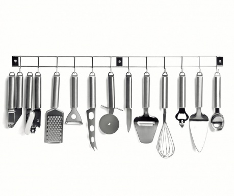 Set 12 ustensile de bucatarie si suport Complete Kitchen