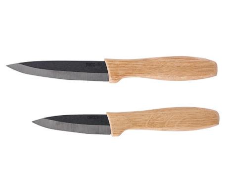 Sada 2 keramických nožů Nero