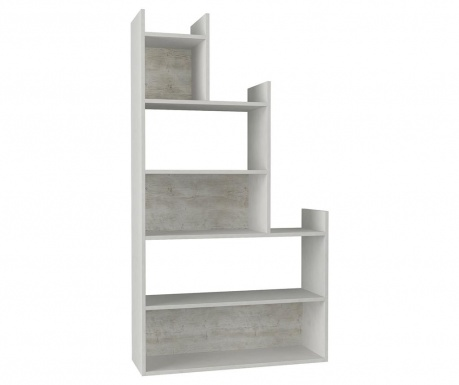 Corp biblioteca Tower White Beige