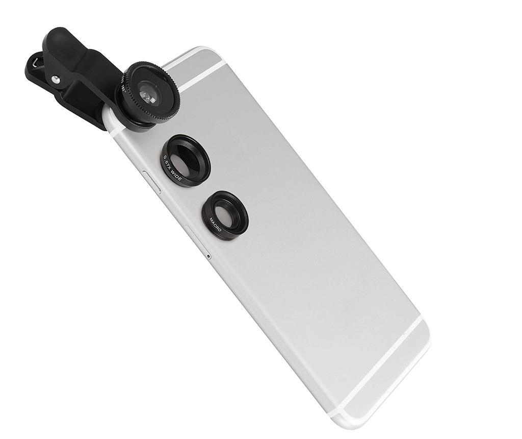 Komplet objektivov za kamero telefona 3 v 1 Artist